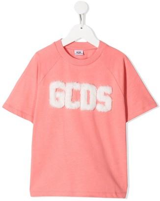 Gcds Kids logo T-shirt