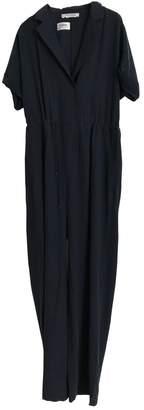 Max Mara \N Navy Silk Jumpsuits