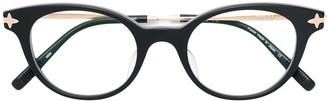Matsuda Round Framed Glasses