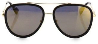 Gucci 57MM Pilot Sunglasses