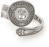 Alex and Ani Number 3 Spoon Ring