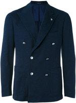 Tagliatore double breasted jacket - men - Cotton/Cupro - 50
