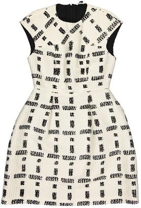 Fendi Ecru Wool Dresses