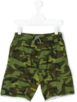 Diesel camouflage print shorts