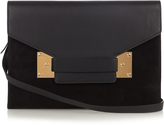 Sophie Hulme Milner envelope leather shoulder bag