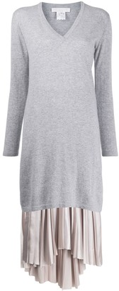 Fabiana Filippi Long V-Neck Jumper