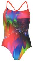 Speedo Womens Sunset Swimsuit Ladies Summer Beach Water Pool Swimwear