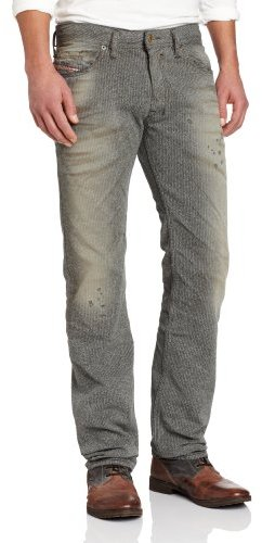 Diesel Men's Safado Regular Slim Straight Leg Jean 0807M