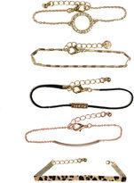 Oasis Leopard Bracelet Set