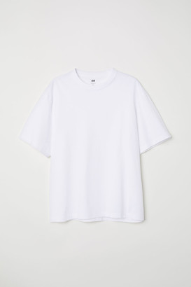 H&M Relaxed Fit T-shirt - White