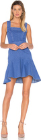 Aijek Haile Fit Flare Dress in Blue. - size 1/S (also in )