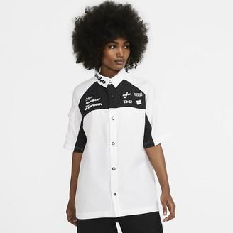 Nike Women's Short-Sleeve Top Jordan Moto