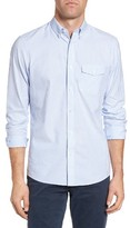 Nordstrom Men's Slim Fit Washed Oxford Sport Shirt
