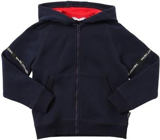 Little Marc Jacobs Printed Cotton Sweatshirt Hoodie