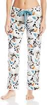 Disney Women's Frozen Frozen Olaf Pajama Pant
