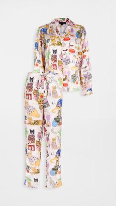 Karen Mabon Fashion Cats Pajama Set