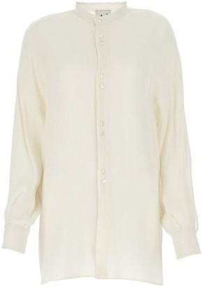 L'Autre Chose Mandarin Collar Shirt