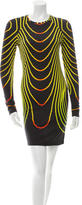 Christopher Kane Printed Jersey Knit Dress w/ Tags
