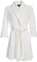 Juicy Couture Snow White Logo Ruffle Robe