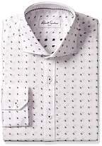 Robert Graham Men's Classic Fit Jacquard Dot Dress Shirt