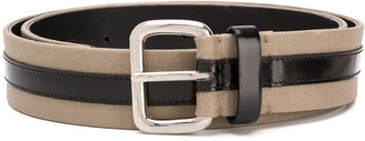Gianfranco Ferré Pre Owned 1990 Two-Tone Buckle Belt