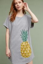 Maeve Wendy Pineapple T-Shirt Dress, Grey