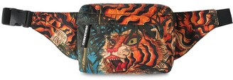 DSQUARED2 Tiger Print Tech Belt Bag