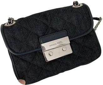 Michael Kors Sloan Blue Denim - Jeans Clutch bags