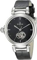 Edox Women's 85025 3C NIN LaPassion Analog Display Swiss Automatic Watch