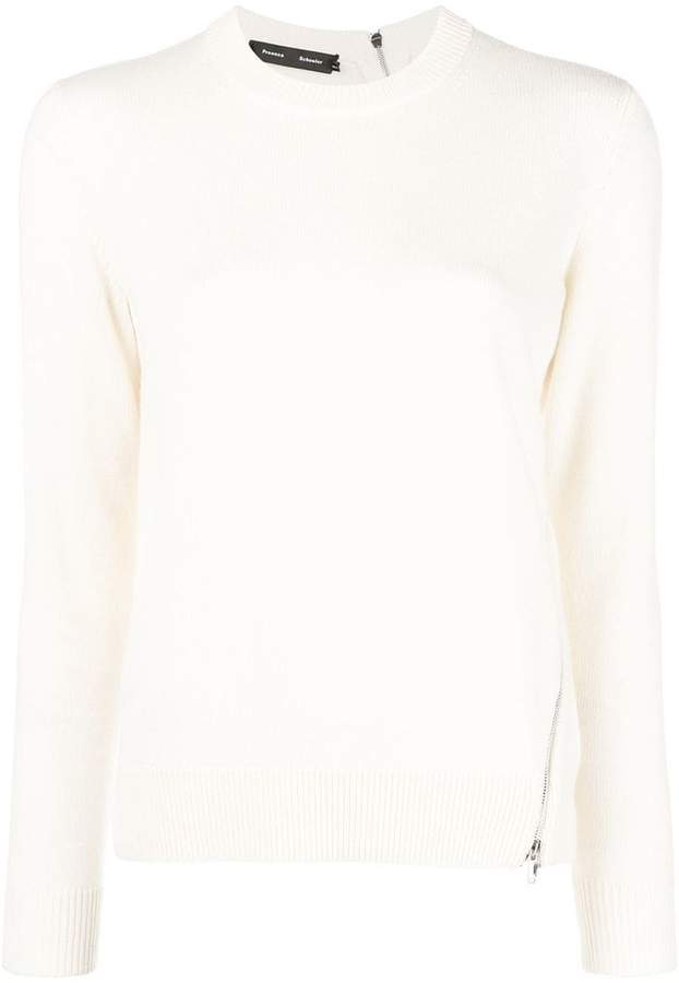 Proenza Schouler long-sleeve fitted sweater