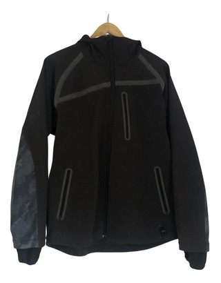 MHI Black Polyester Jackets