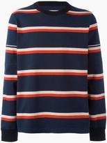 Sacai striped longsleeved T-shirt