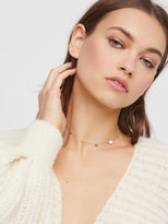Free People Madrid Coins Delicate Choker