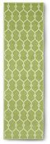 """Nobrand No Brand Indoor/Outdoor Fretwork Runner - Green (2'3""""x8')"""