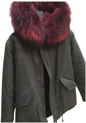 Ducie Green Cotton Coats