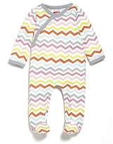 Skip Hop Baby-Girls Starry Chevron Side Snap Footie