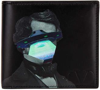 Valentino Billfold Wallet in Black | FWRD