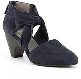 Eileen Fisher Suede Mary Pumps