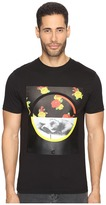 McQ by Alexander McQueen Graphic Floral Short Sleeve Crew T-Shirt