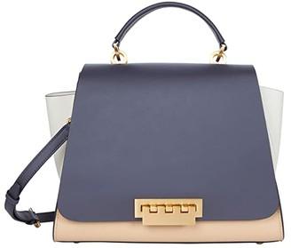 ZAC Zac Posen Eartha Soft Top-Handle - Color-Block (Multi) Handbags