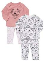 Character Little Miss 2 Pack of Little Miss Giggles Pyjamas, Newborn Girl's