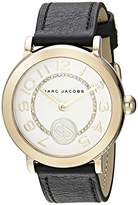 Marc by Marc Jacobs Women's 'Riley' Quartz Stainless Steel and Leather Casual Watch