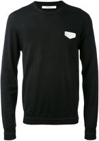Givenchy logo patch sweatshirt - men - Wool - S