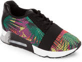 Ash Lacey Knit Wedge Trainer Sneakers