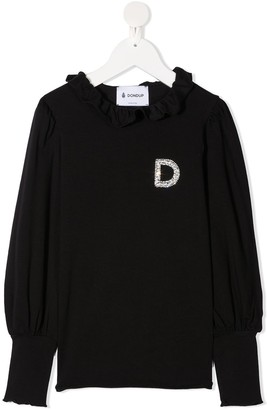 Dondup Kids Crystal-Logo Top