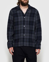 Our Legacy Box Shirt Dark Tartan