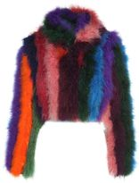 Moschino Multicolored-fur Jacket