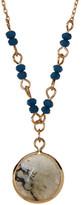 Stephan & Co Semi-Precious Pendant Necklace
