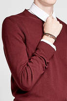 Tod's Braided Leather Wrap Bracelet
