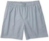 Charles Tyrwhitt Washed navy and white stripe swim shorts